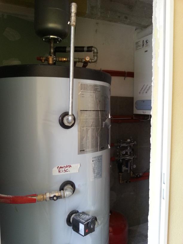 Torretta boiler