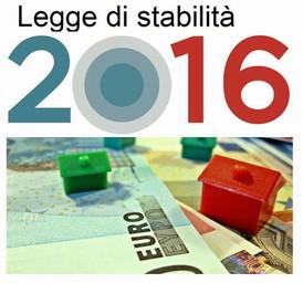 legge di stabilita 2016
